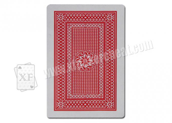 Paper Playing Cards O-MEGA Invisible Marked Cards For Contact Lenses Poker Cheat